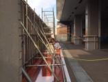 GCDP ANEEX 改修工事 仮囲い組立