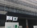 GCDP ANEX 改修工事 外部足場組立