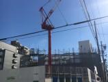 昭和区緑町PJ建設工事  4F躯体足場組立